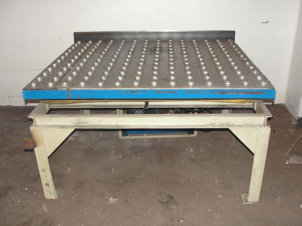Used Advance Lifts Inc Scissor Lift Table For Sale